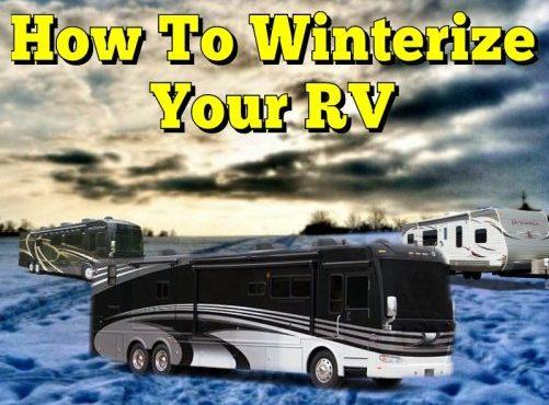 Prepare Your RV For Storage